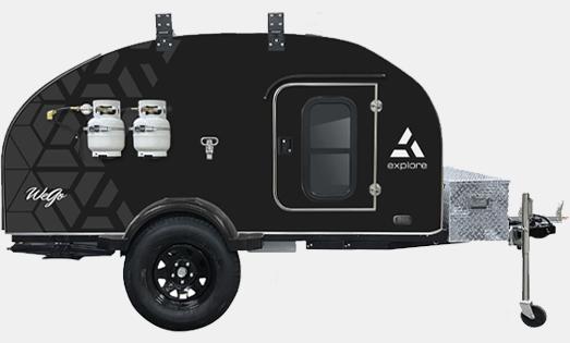 2021 wego explore camp trailer