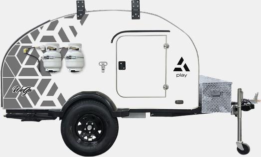2021 wego play camper trailer